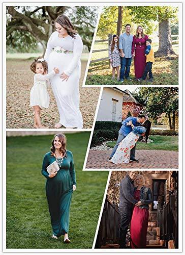 LONGYUAN Women Short Sleeve Casual L-6XL Plus Size Maxi Dress with Pockets