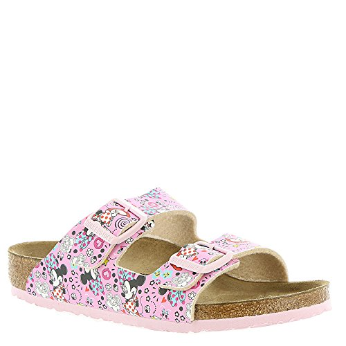 Birkenstock Kids Baby Girl's Arizona (Toddler/Little Kid/Big Kid) Lovely Minnie Rose Birko-Flor