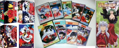 Inuyasha Complete Tv Series Dvd Box Set + Movies Eng Dub(1-167+4 Movies) + Final Action 1-26 End Perfect Collection in 32 Dvds All in English Audio. All Region = Region 0. Fx Dvds. Sold As Is ! ( Limits Sets)