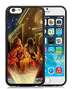 Individualization iPhone 6 Case,Merry Christmas Black iPhone 6 4.7 Inch TPU Case 57