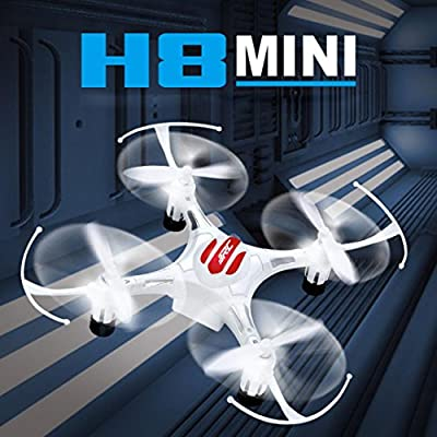 Tuscom@ JJRC H8 Mini 2.4G 4CH 6 Axis RTF RC Quadcopter Led Night Lights CF Mode