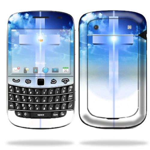 Mightyskins Protective Skin Decal Cover for Blackberry Bold 9900 or 9930 Cell Phone wrap sticker skins Cross