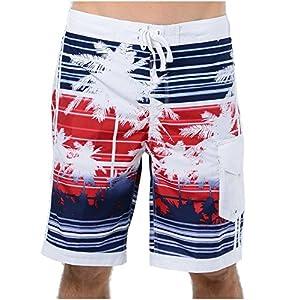 US Apparel Men's Micro Fiber South Beach Swim Trunks