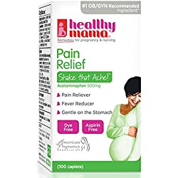 Healthy Mama Shake That Ache Pain Relief Caplets, 100 Count