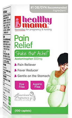 Day Relief Caplets - Healthy Mama Shake That Ache Pain Relief Caplets, 100 Count