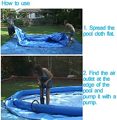 ZDYLM-Y Piscina Desmontable Tubular, Easy Set, para Practicar ...