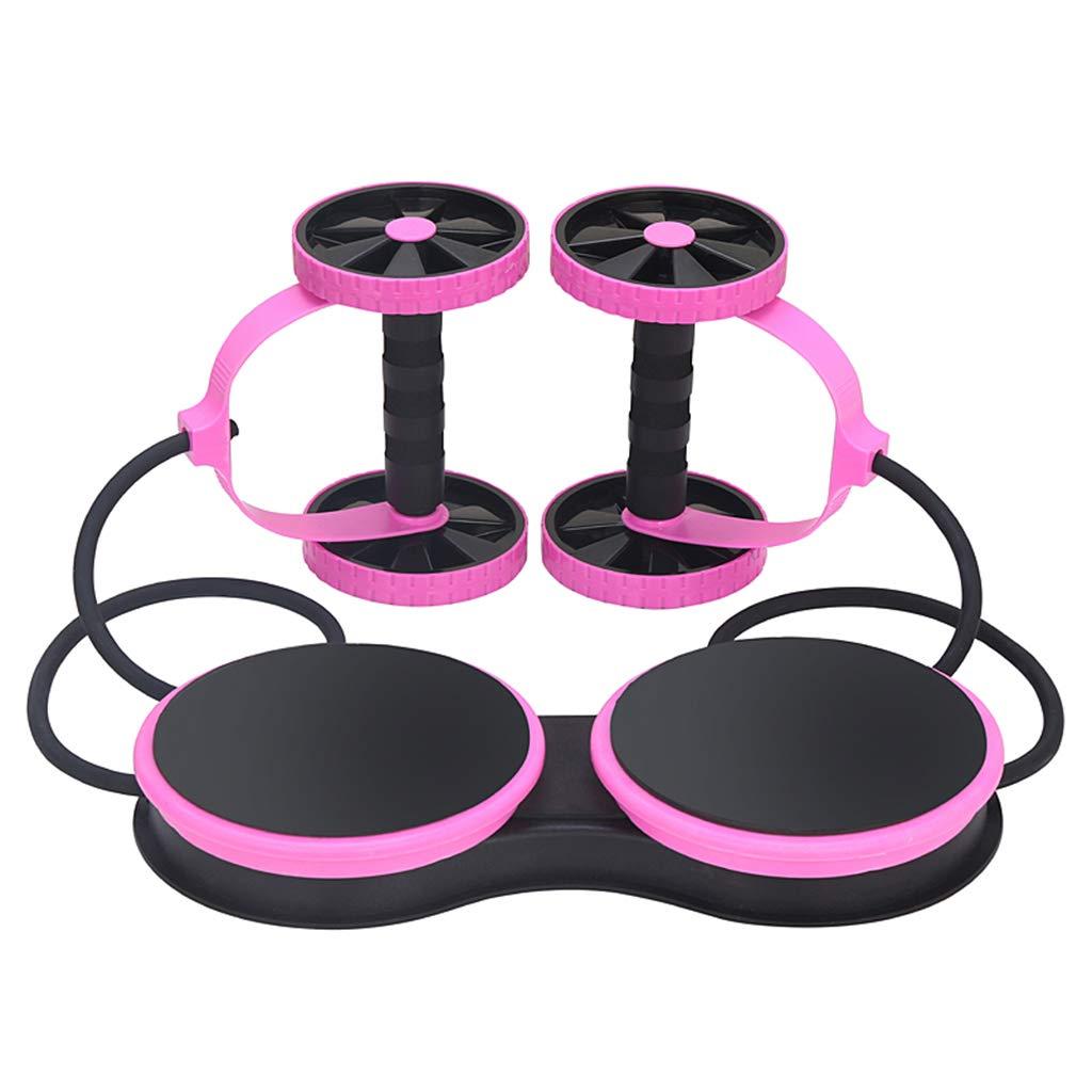 ホーム腹部筋肉腹部援助腹部捻転機フィットネス機器 (色 : Pink)  Pink B07JZ85BK6