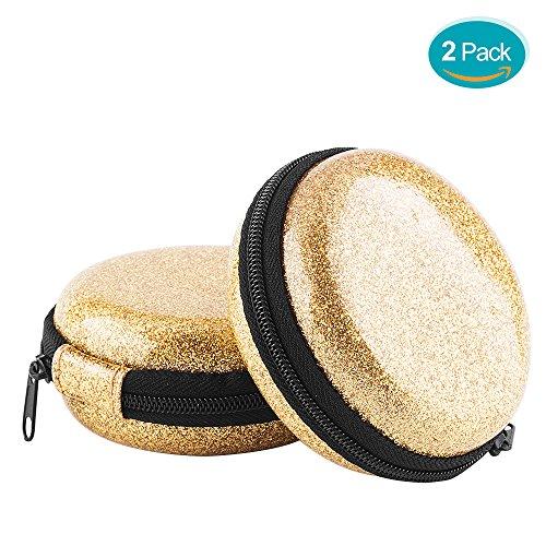 Wireless Earbuds Case,SUNGUY 2 Pack Hard EVA+PVC bluetooth E