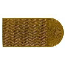 Andersen 273 Waterhog Grand Classic Polypropylene Fiber Single End Entrance Indoor/Outdoor Floor Mat, SBR Rubber Backing, 5.9-Feet Length X 4-Feet Width, 3/8-Inch Thick, Gold