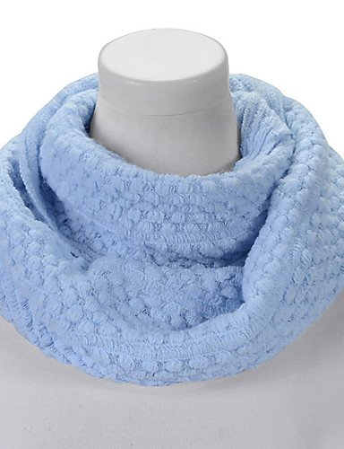Valentine'S Blue Winter Neck Lady Infinite ZHUDJ Warm Thick Scarf Womens Light Shawl Couple fwIYf7qC
