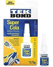 Tekbond TEK5GGOV, Cola de Alta Resistência, Multicolor