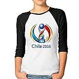 JAX Women's 3/4 Sleeve Chile Copa 2016 Basketball Short Shirts Black M offers