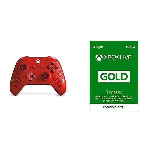 Microsoft - Mando Inalámbrico, Color Rojo (Xbox One ...
