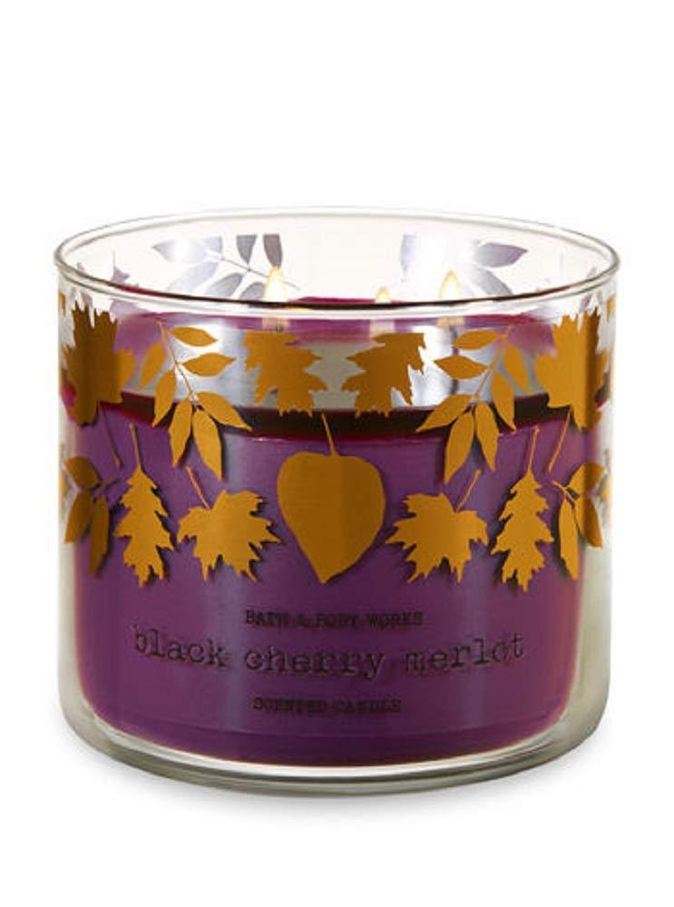Bath & Body Works 3-Wick Candle in Black Cherry Merlot