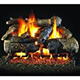 Peterson Gas Logs 24-inch Charred American Oak Logs Only No Burner