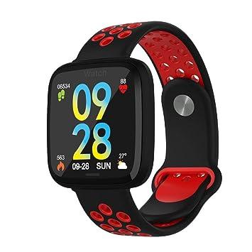 Amazon.com: Reloj de pulsera inteligente Fitness Tracker F15 ...