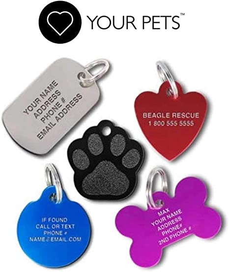 Custom Tags Custom Tags for Pets Accessories Cat
