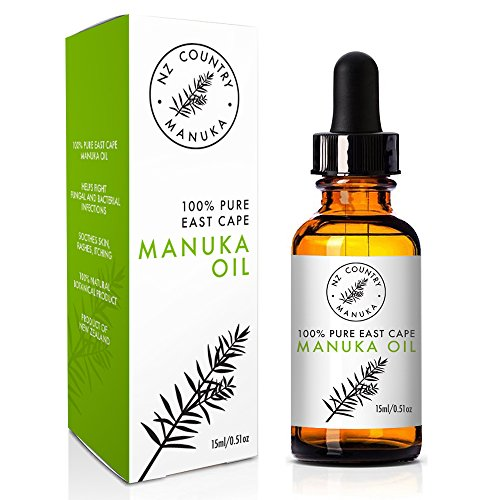 Antifungal Creme (NZ Country Manuka Healing Oil 25% 15ml Stronger Than Tea Tree Oil Natural Antiseptic Antifungal Skin Organic Remedy)