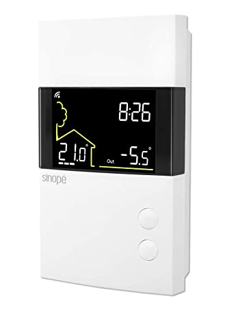Amazon.com: Sinopé TH1400ZB - Termostato de bajo voltaje ...
