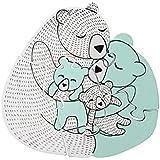 Bloomingville Holzspielzeug Puzzle Bärenfamilie Mini Serie