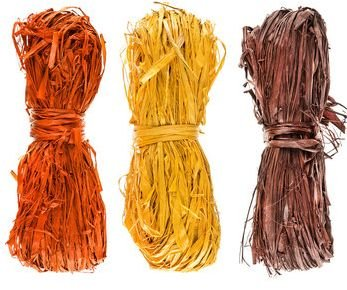 Fall Raffia Orange / Yellow / Brown 3oz