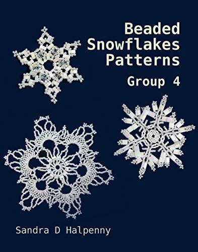 Beaded Snowflake Patterns - Group 4 (Beaded Snowflake -