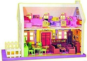Buy Wrapbow Kid S Big Doll House With Main Door Windows Stairs
