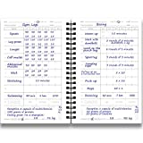 Cossac Fitness Journal & Workout Planner - Designed
