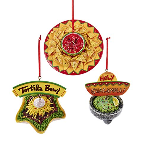 Food Ornaments Christmas: Mexican Food Christmas Ornaments