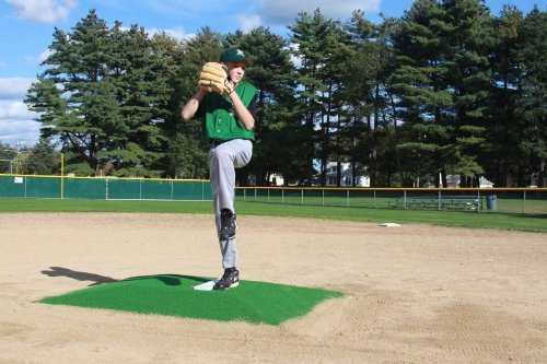ProMounds ''Minor League Style'' Pitching Game Mound - Clay colored Turf by ProMounds
