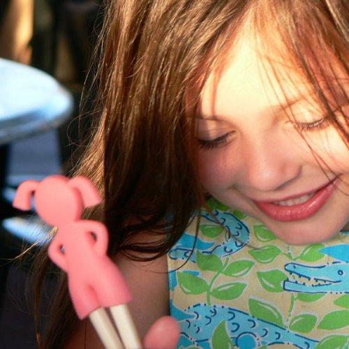 Fred & Friends Kids Chopsticks, Girl