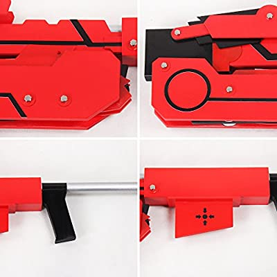 aition 1449 RWBY Ruby Crescent Rose The High Velocity Sniper-Scythe Transformed Cosplay Prop: Toys & Games