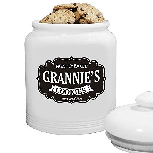 - GiftsForYouNow Personalized Farmhouse Ceramic Cookie Jar