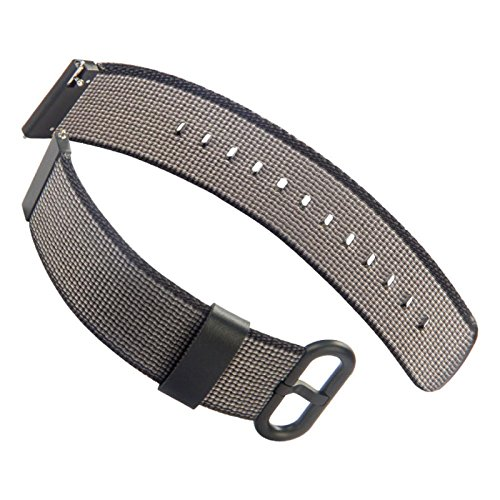 Owill Woven Watch Band Nylon Fabric Wrist Strap for Samsung Gear S2 SM-R720/R730,Band Width:20MM (Multicolour - S2 Frame