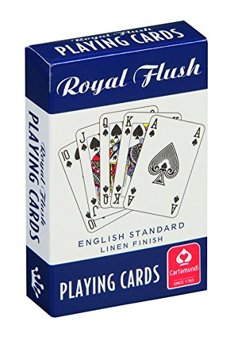 Red Royal Flush Playing Cards