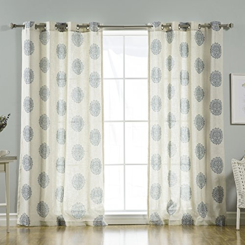 medallion ideas curtains home drapes curtain design