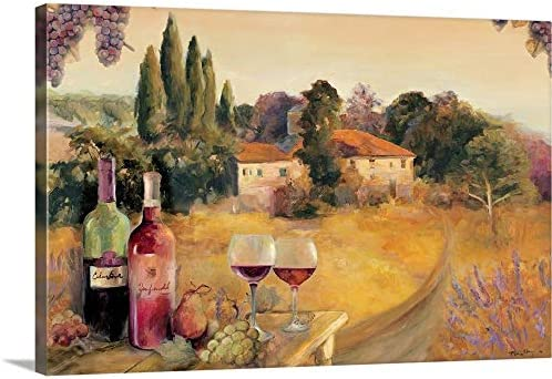 Spoleto Afternoon Canvas Wall Art Print