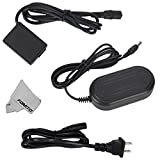 Fomito AC-PW20 AC Power Supply Adapter + DC Coupler (NP-FW50 Battery Replacement) for SONY Alpha NEX-5 NEX-5A NEX-5C NEX-5CA NEX-5CD NEX-5H NEX-5K NEX-3 NEX-3A NEX-3C NEX-3CA NEX-3CD NEX-3D NEX-3K