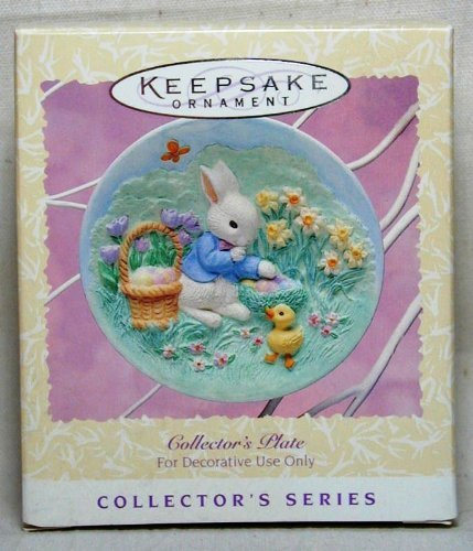 Collector's Plate Keeping a Secret 1996 3rd in Series QEO8221 by Hallmark