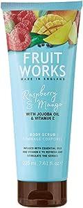 Fruit Works Raspberry & Mango Body Scrub 1x 225ml