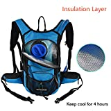 MIRACOL Hydration Backpack 2L Water Bladder, Thermal...