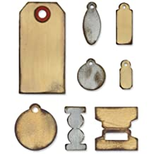 Sizzix Bigz Die, Tiny Tabs and Tags by Tim Holtz