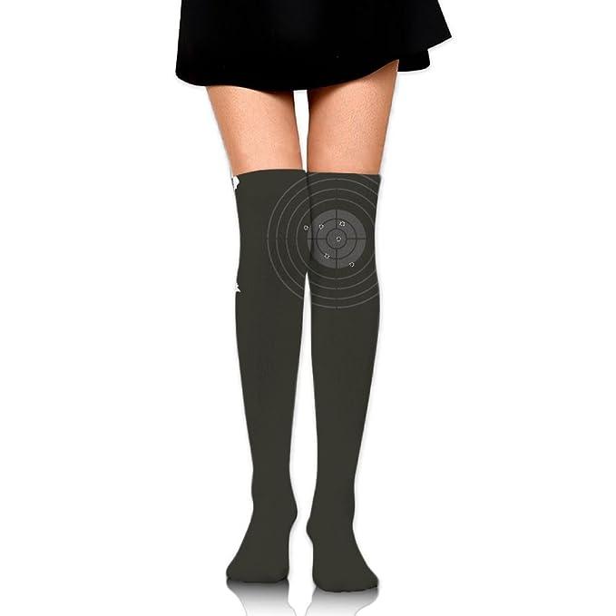 c714d2982f7 Women Thigh High Socks Over Knee Darts Target Extra Long Tube Dress Legging  Slim Look at Amazon Women s Clothing store