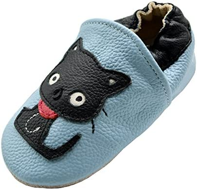 6bd9acc6053d4 iEvolve Baby Leather Shoes Soft First Walker Shoes Crib Shoes ...