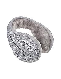 YESURPRISE Unisex Women Men Earmuff Winter Warm Outdoor Ear Muffs Warmer Gray