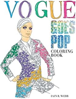 Vogue Goes Pop Coloring Book