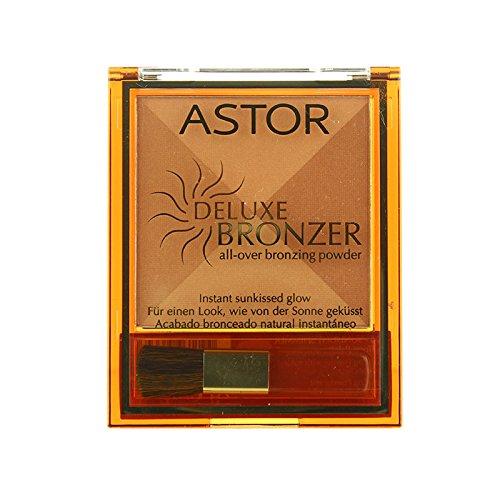 Astor Deluxe Bronzer 4 Tone Palette Bronzing Powder -001 Sunlight (Astor Four Light)