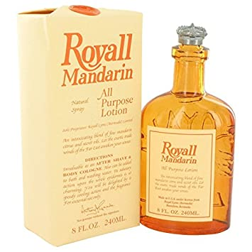 Royal Mandarin Orange Royall Fragrances All Purpose Lotion 8.0 Oz M