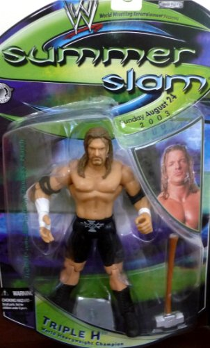 Triple H SummerSlam Summer Slam 2003 WWE WWF Figure
