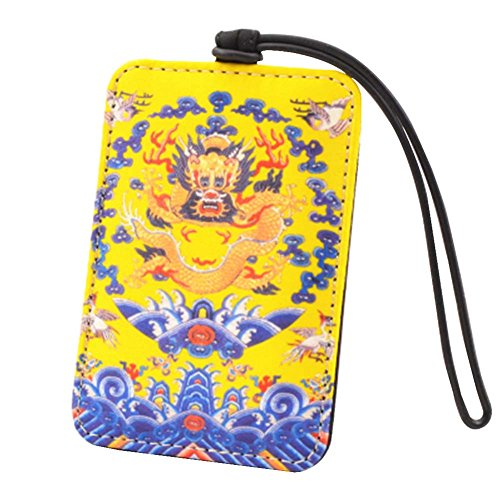Chinese Style Luggage Tag Suitcase Luggage Tag Travel Luggage Tag #1 by Black Temptation